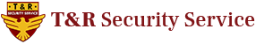T&R Security Service Logo